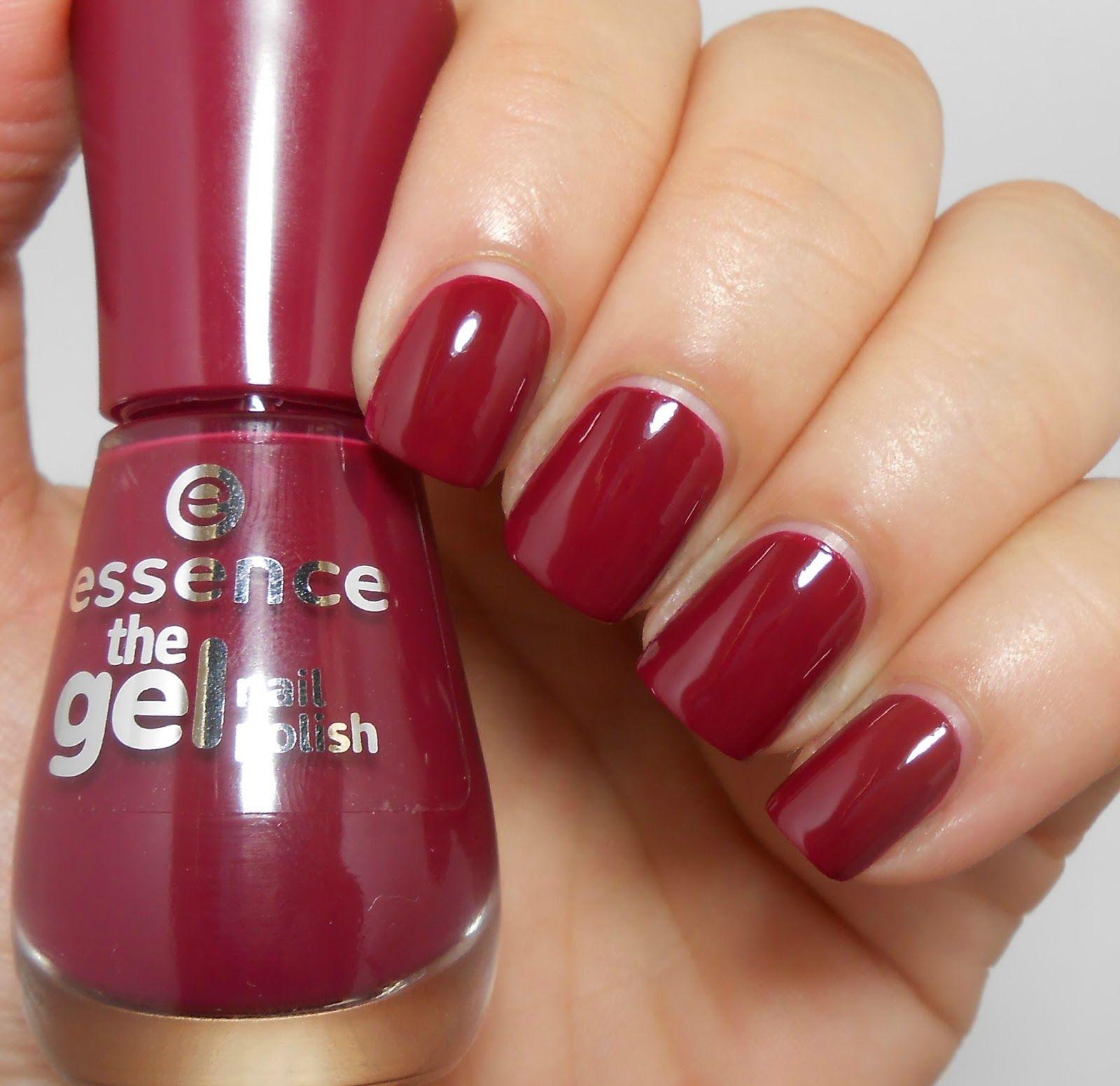 Review And Swatches Essence The Gel Nail Polish Comparisons Nechty Lak Na Nechty Kozmetika