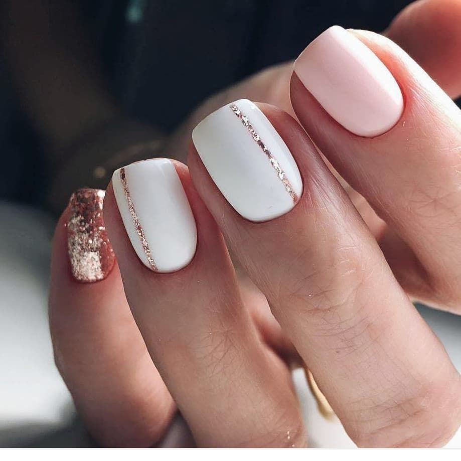 So Cute Short Acrylic Nails Ideas You Will Love Them Gelove Nehty Cervene Nehty Design Nehtu