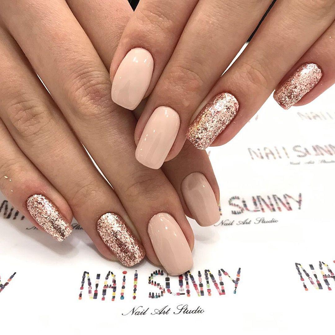 Pin By Izabela Kovarikova On Nails Sparkle Nails Nail Designs Simple Nails