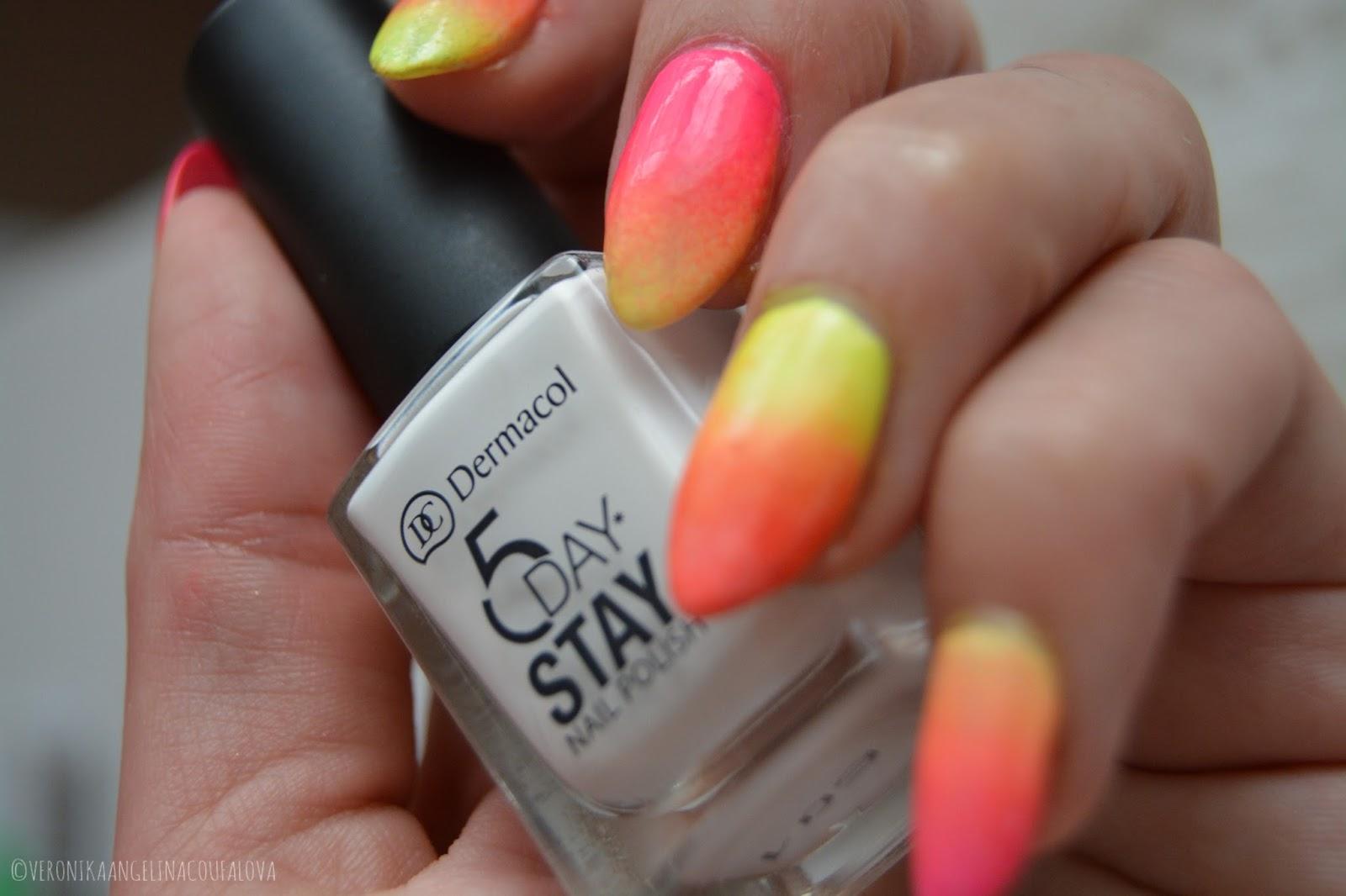 Angelina Beauty Blogger Dermacol Neon Laky Na Nehty Odlakovac Oderless