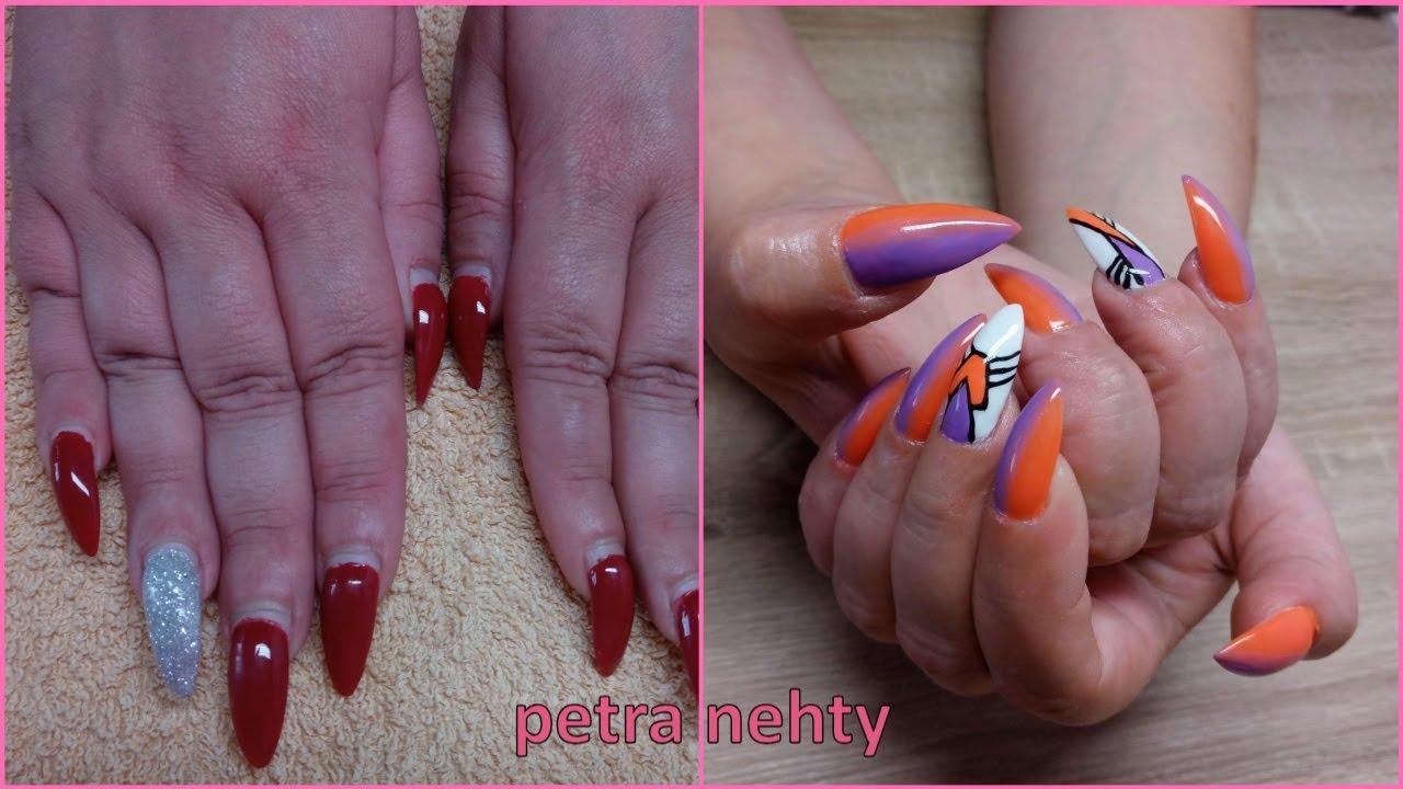 Akrylove Nehty Folie V Akrylu By Nailsbytery