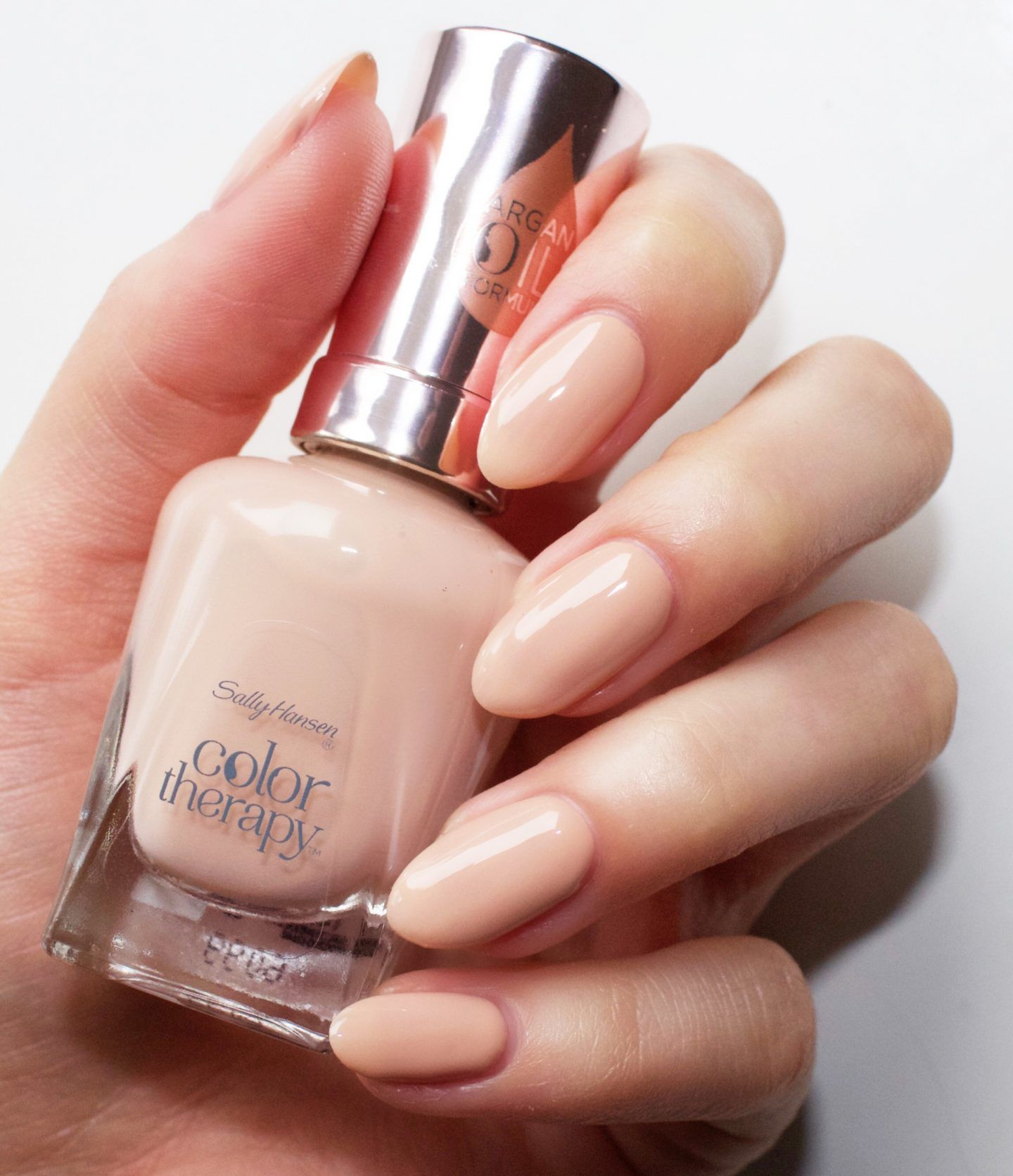Sally Hansen Color Therapy Swatches And Review Sally Hansen Nail Polish Sally Hansen Color Therapy Sally Hansen Nails