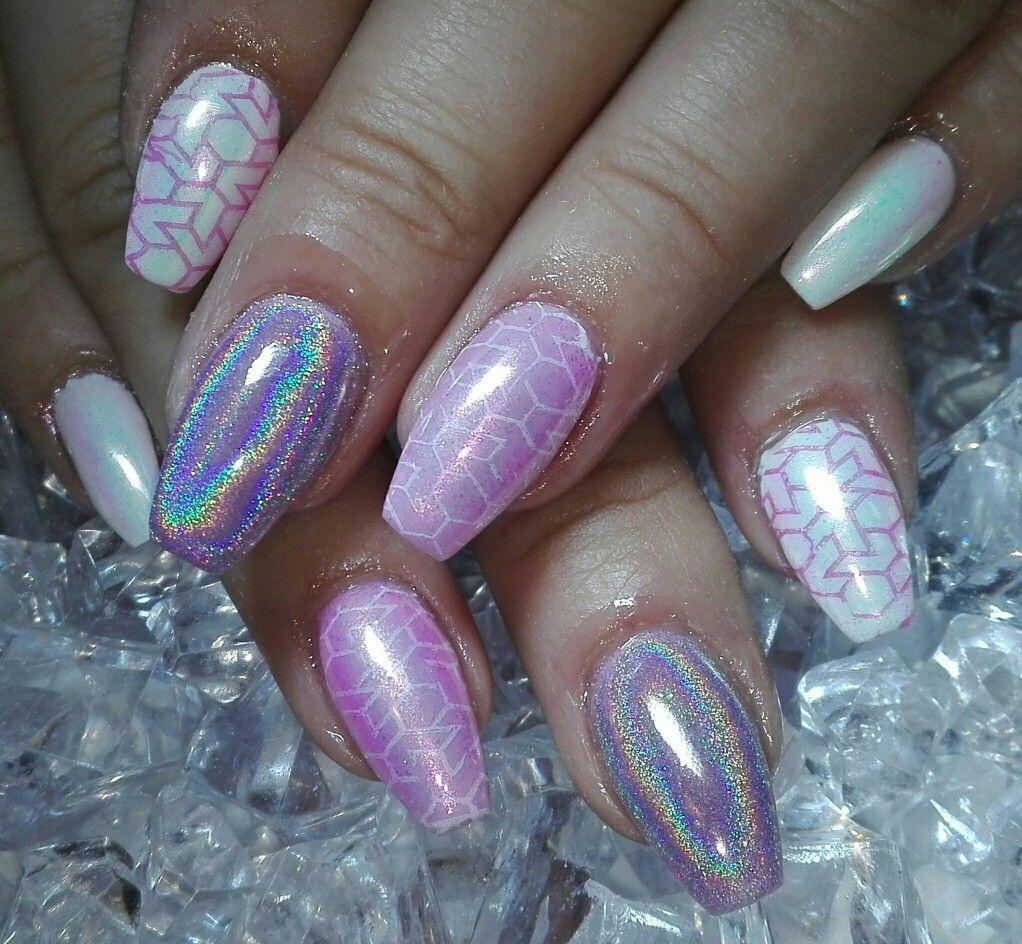 Pink Nails Nehty