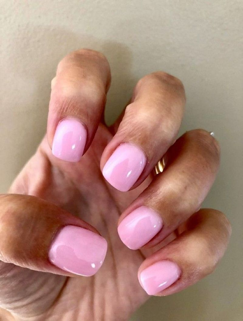 Top 35 Pretty Nails Colors You Should Try In 2019 With Images Gelove Nehty Design Nehtu Nehty