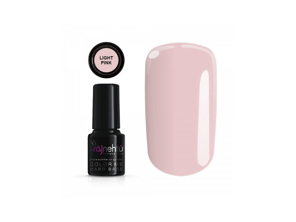 Uv Gel Lak Color Me 6g Hard Base Light Pink Raj Nehtu