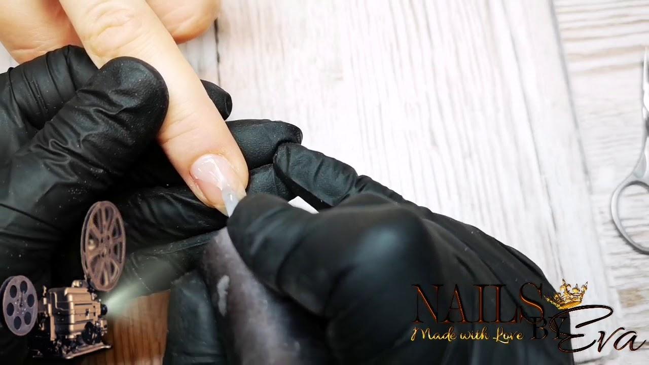 Zpevneni Prirodnich Nehtu Nails By Eva Youtube