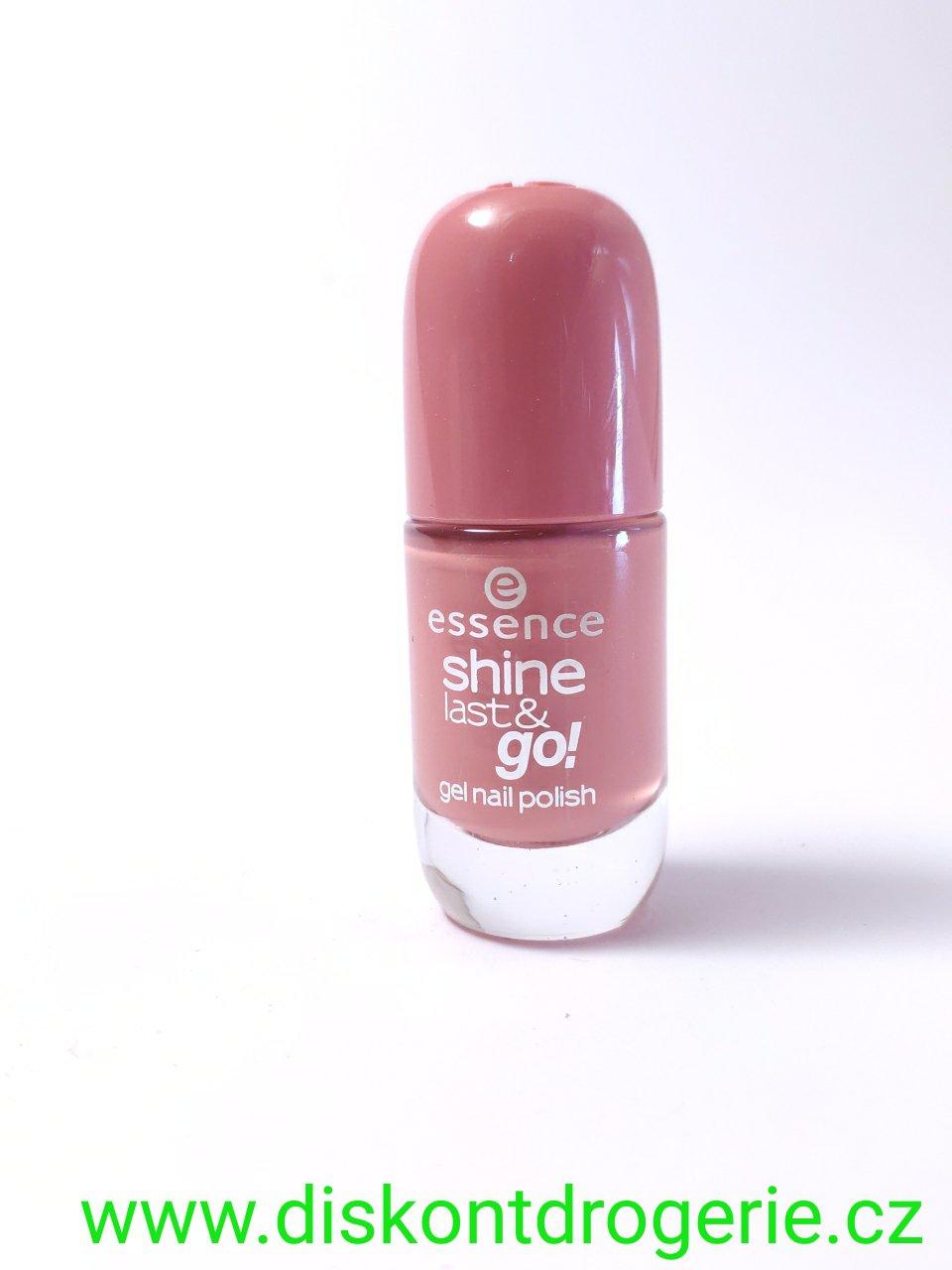 Essence Lak Na Nehty Shine Last And Go 09 Drogerie Parfemy Bio Produkty