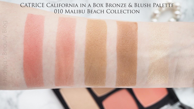 Catrice California In A Box Bronze Blush Palette Mateja S Beauty Blog