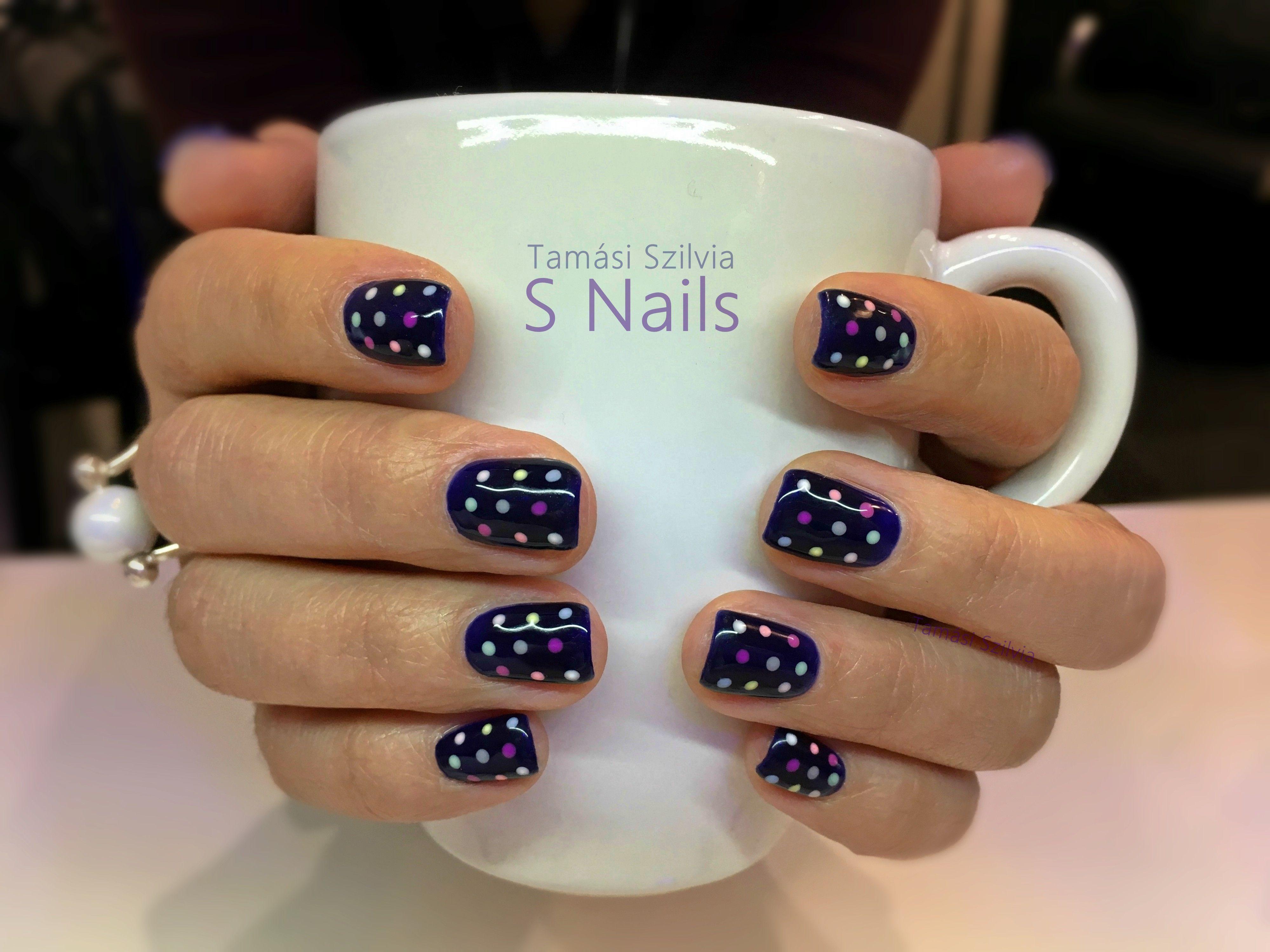 Szines Pottyos Gel Lakk Wow Nails Gel Nails Nails