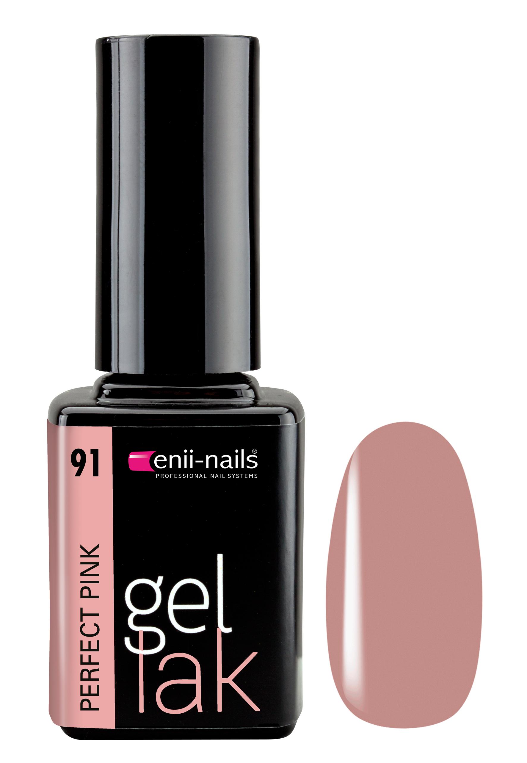 Enii Nails Gel Lak 91 Perfect Pink 11 Ml Glami Cz