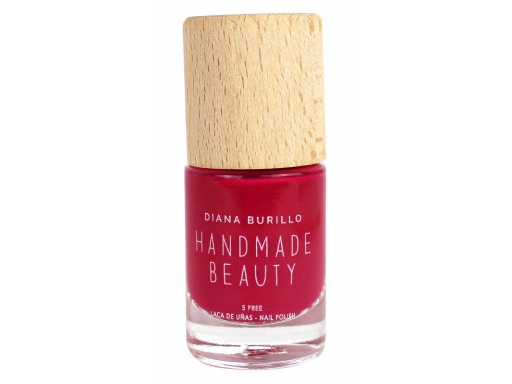 Handmade Beauty Lak Na Nehty 5 Free Strawberry 10 Ml Biobalicek Cz