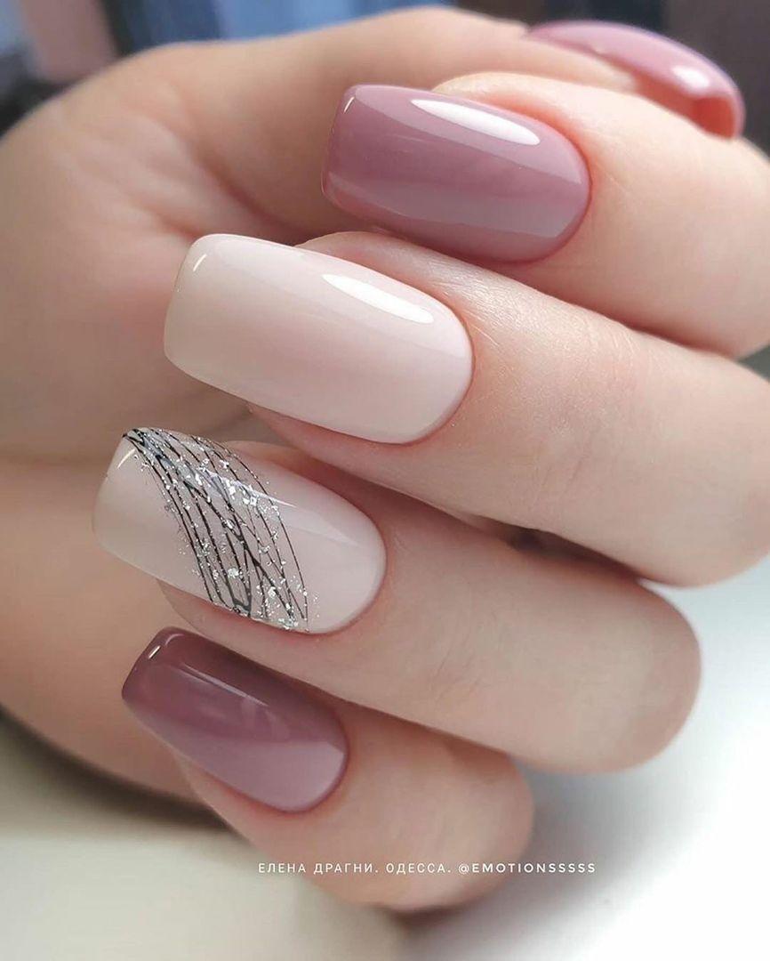 Manikyur Dizajn Nogtej Vkontakte In 2020 Pink Acrylic Nails Pink Nails Square Nail Designs