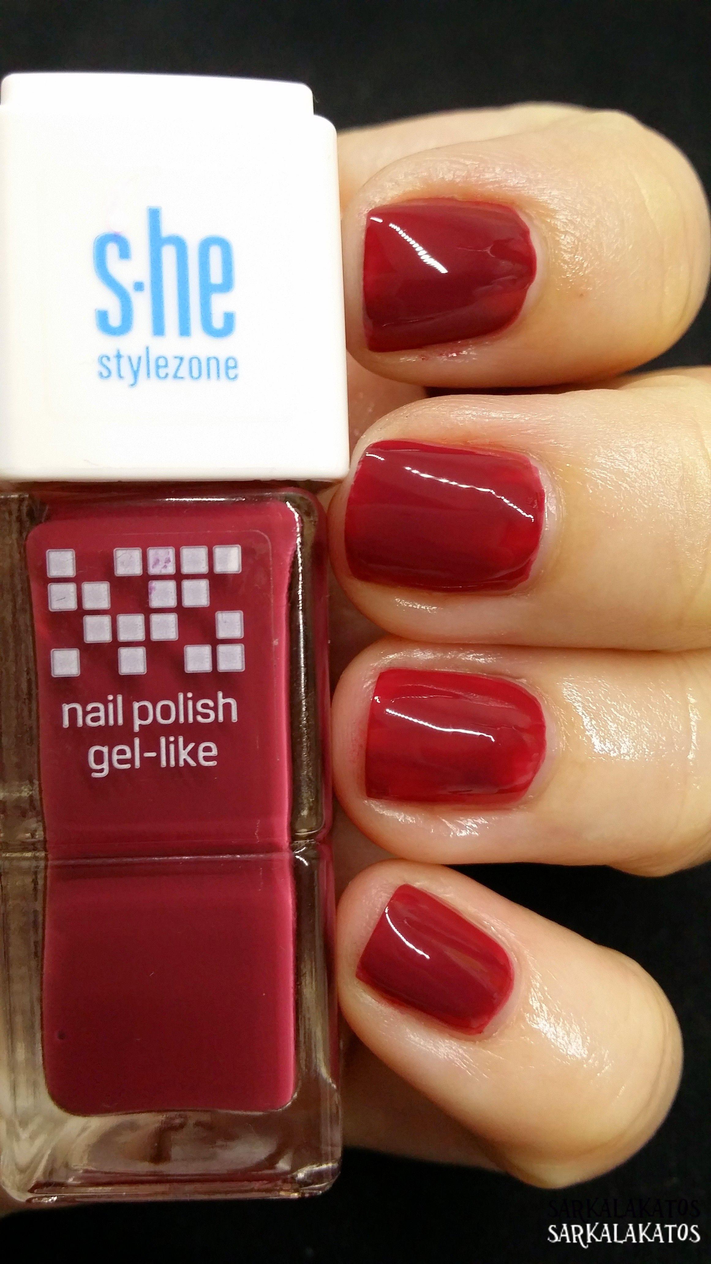 S He Nail Polish Like Gel 545