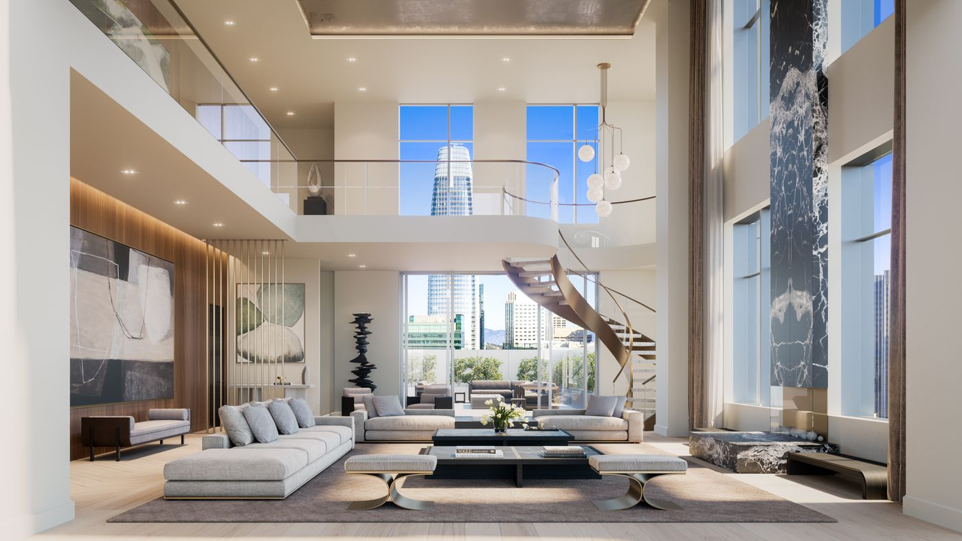 San Francisco S New Four Seasons Will Offer 49 Million Penthouse Curbed Sf