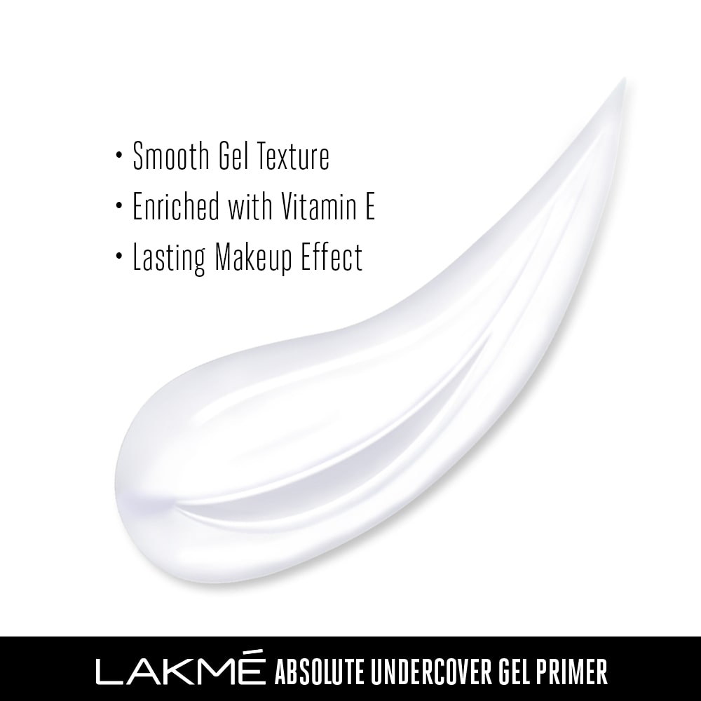 Lakme Absolute Undercover Gel Primer Lakme India