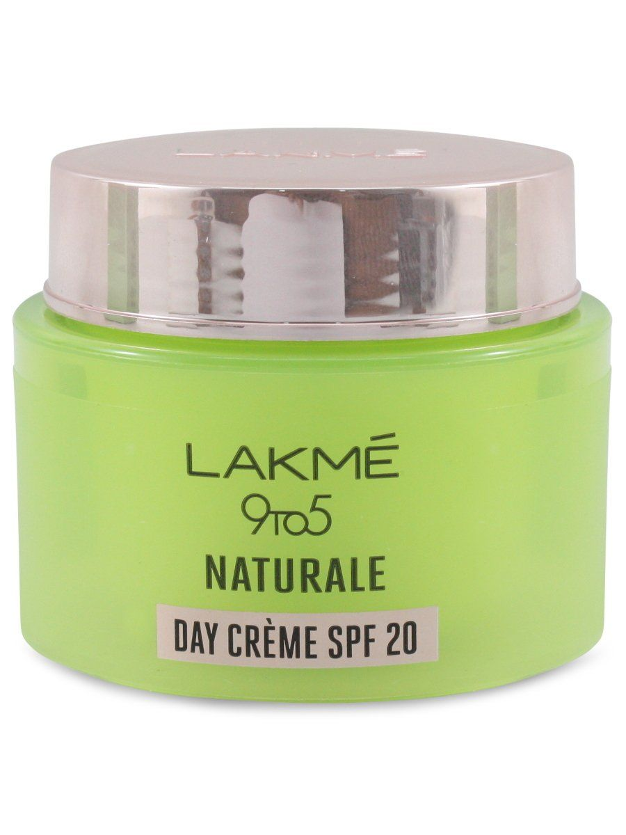 Lakme 9 To 5 Naturale Day Creme 50 G Day Cream Spf 20 Pure Aloe Vera Pure Aloe Vera Creme Aloe Vera