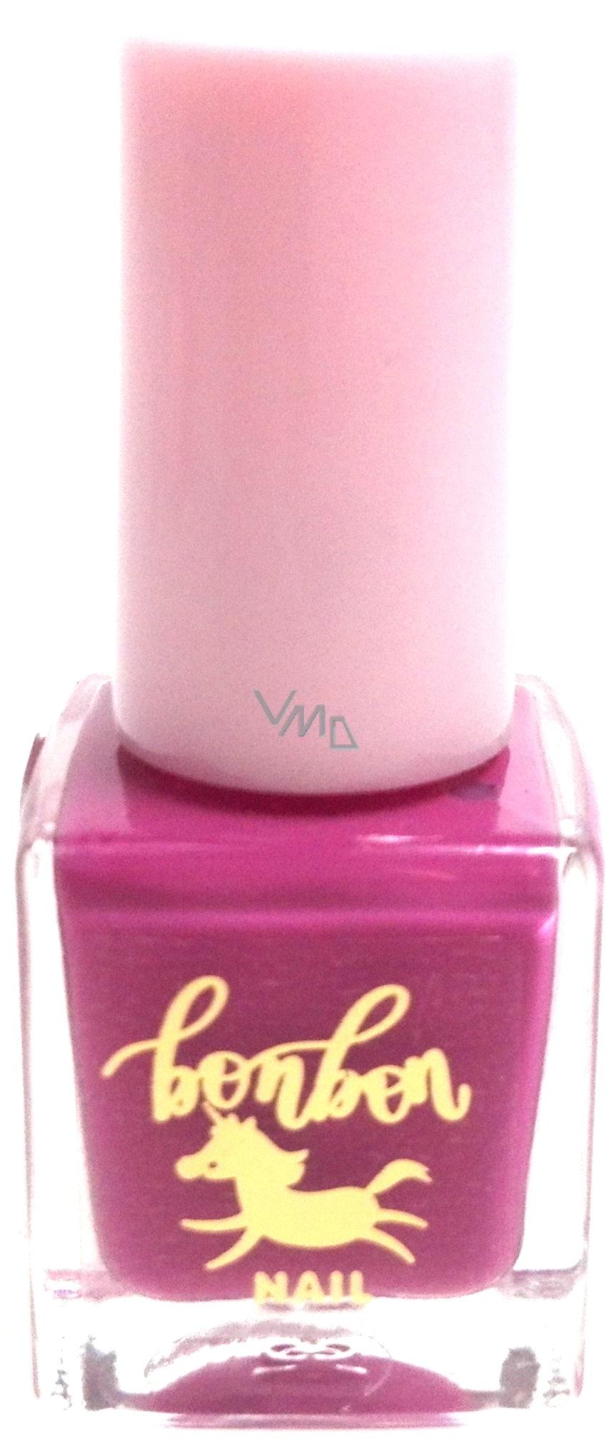 Dor Cosmetics Water Based Nail Polish Bonbon 02 Purple 5 Ml Vmd Parfumerie Drogerie