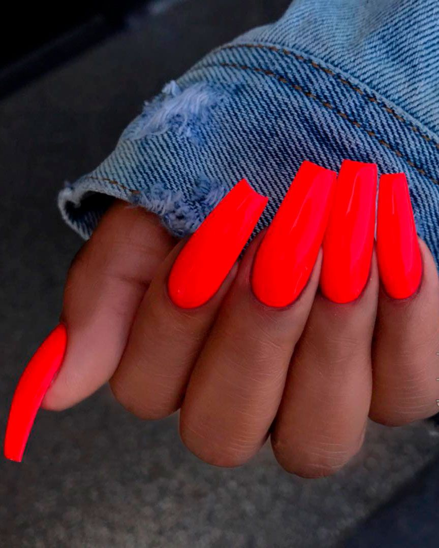 Best Nails For Summer 2019 In 2020 With Images Gelove Nehty Design Nehtu Nehty