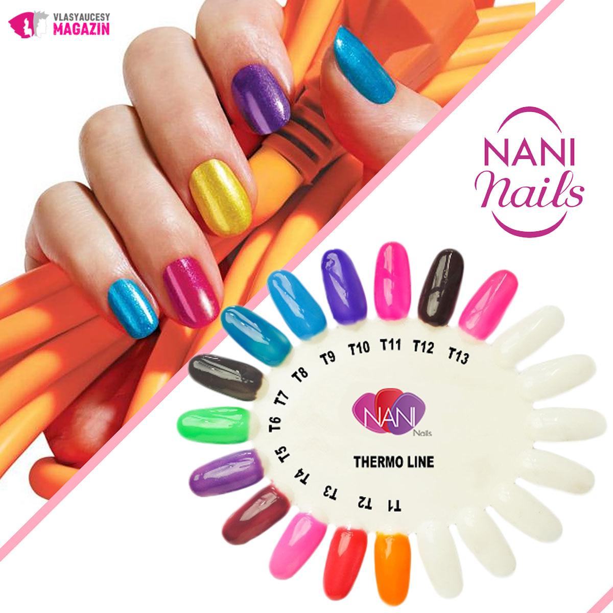 02 Manikura 2019 Termo Gel Laky Nani Nails Vlasy A Ucesy