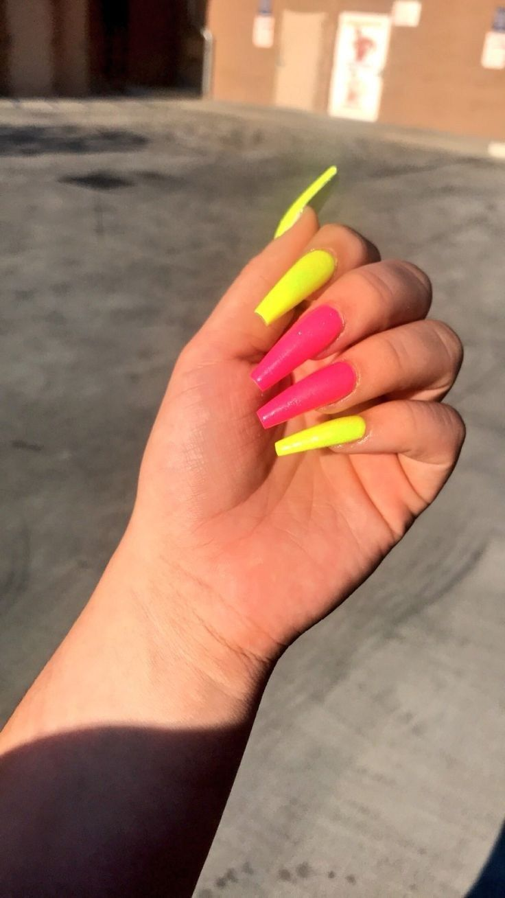 55 Long Acrylic Nail Designs Extraordinary For All Women Best Nail Design In The World 2019 21 With Images Nehty