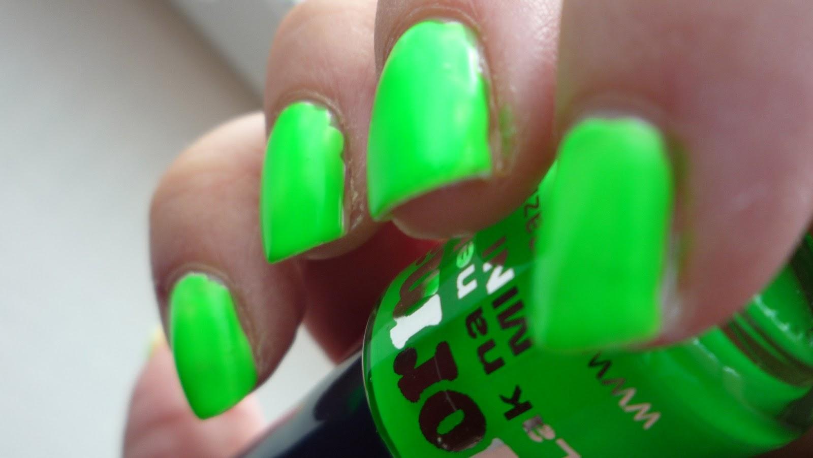 Tedinka Nails Norma Neonka Zelena