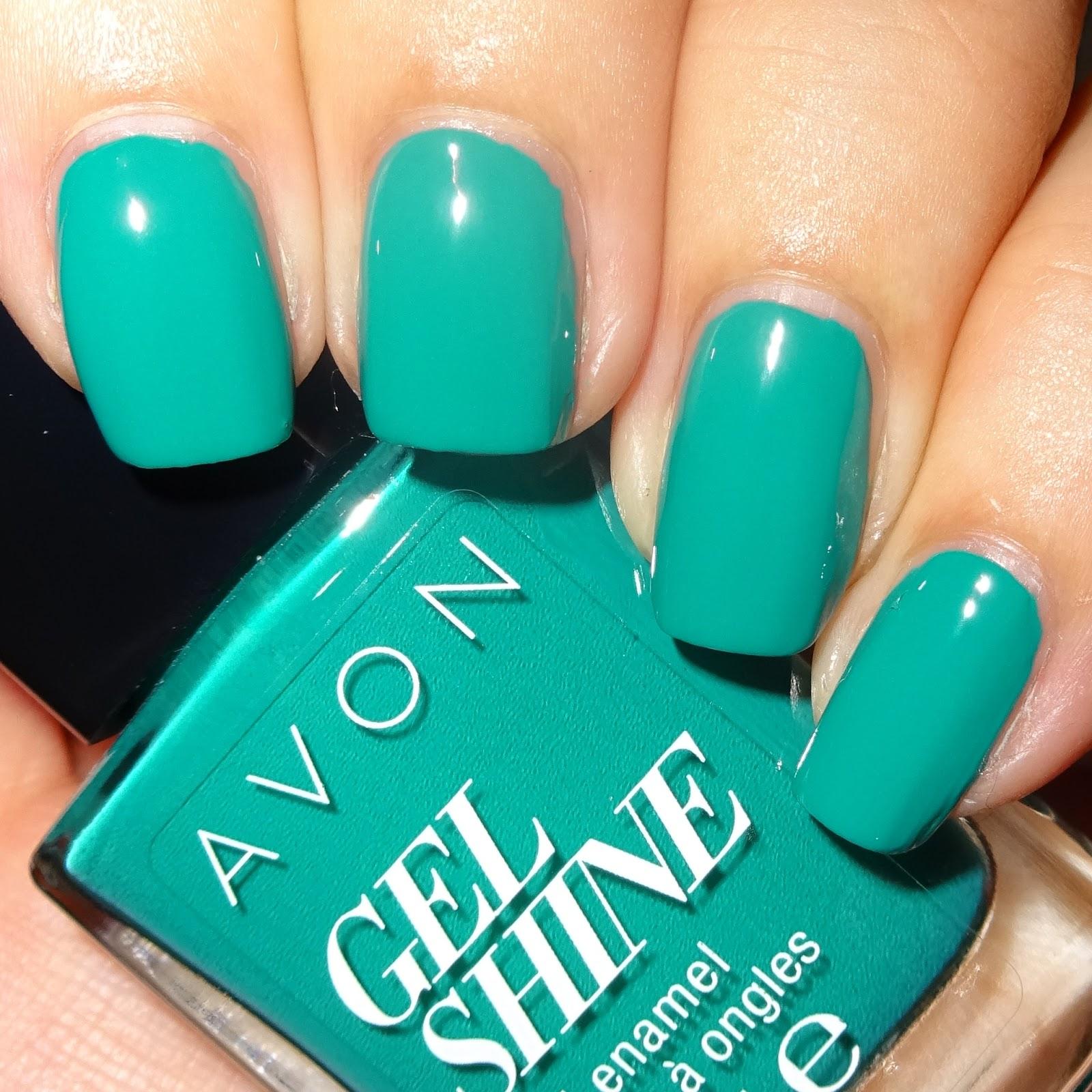 Avon Gel Shine Emerald City