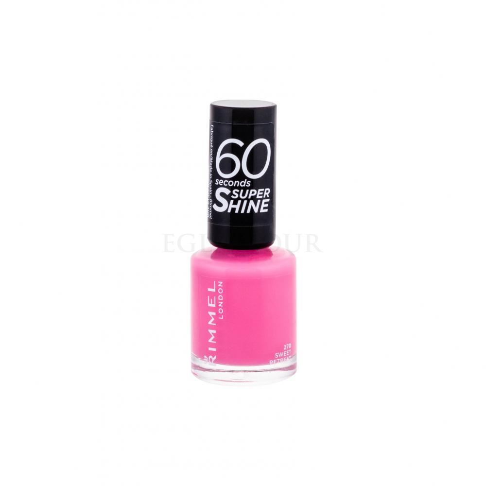 Rimmel London 60 Seconds By Rita Ora Lakiery Do Paznokci Dla Kobiet Perfumeria Internetowa E Glamour Pl