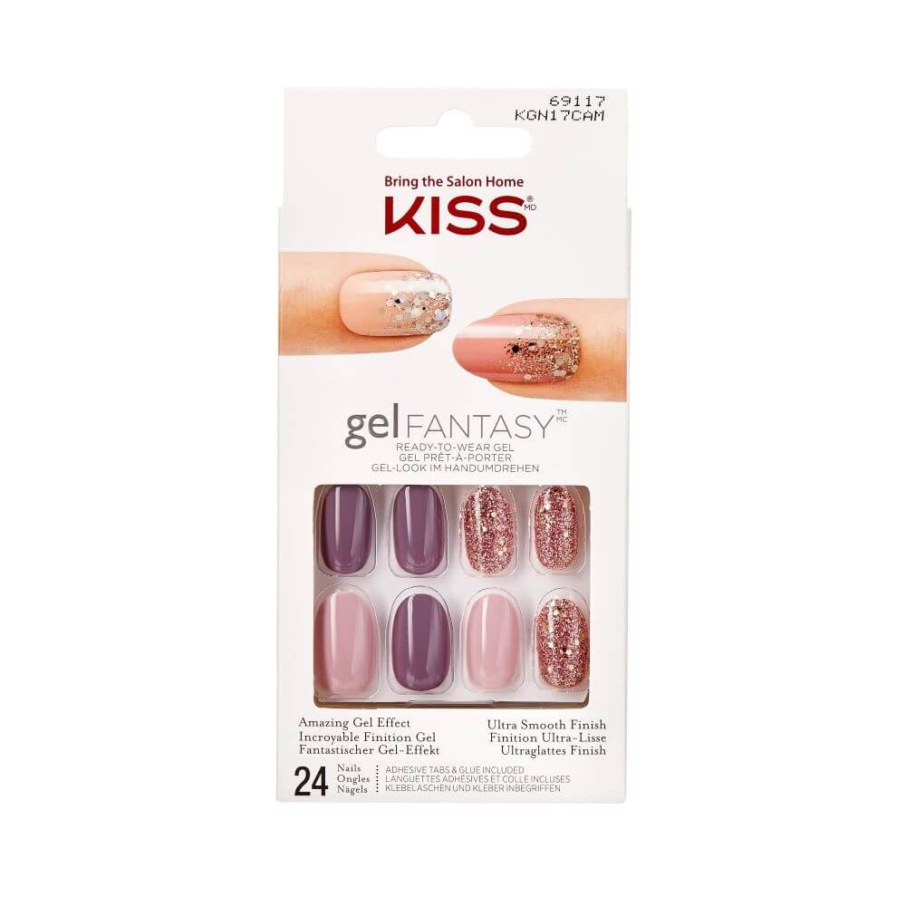 Gelove Nehty 69117 Gel Fantasy Nails 24 Ks Krasa Cz