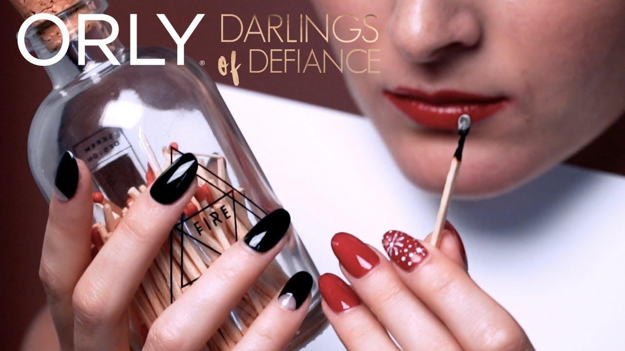 Smela Zimni Trendy Kolekce Laku Na Nehty Orly Darlings Of Defiance Youtube