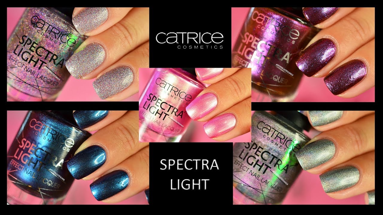 Catrice Spectra Light Collection Swatches Youtube