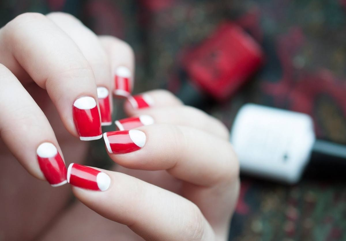 Cervena A Bila Bunda 100 Fotografii Modniho Designu Trendu A Novinek
