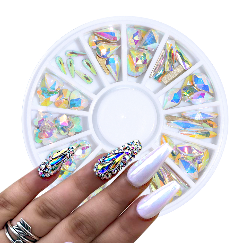 Top 10 Diamond Crystal Nails List And Get Free Shipping Dk23i2if