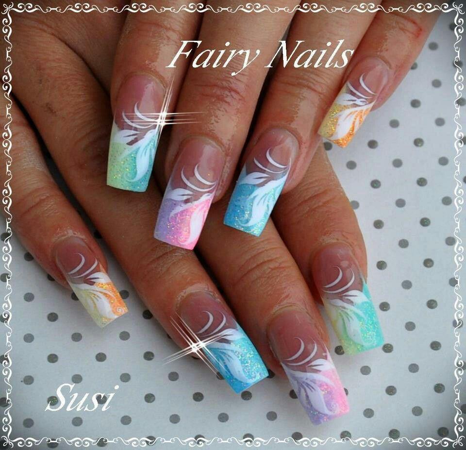 Wonderful Summer Nail Art Design Design Nehtu Gelove Nehty Nehty
