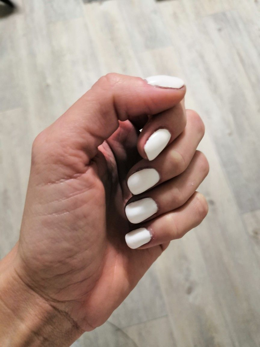 Bile Nehty Nails Gel Convenience Store Products