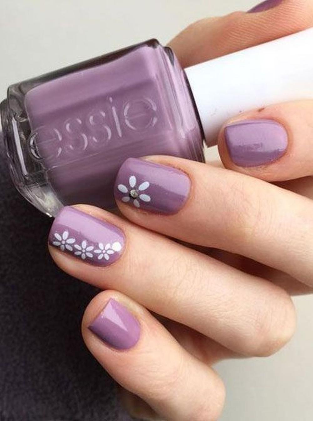 34 Popular Spring Nail Art Design Ideas 2019 Trend In 2020 Koromotletek Viragos Kormok Korommintak