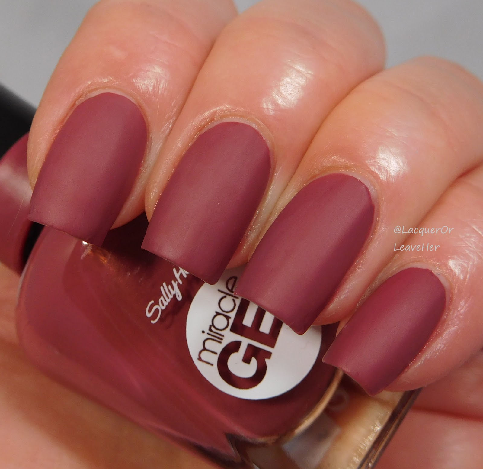 Lacquer Or Leave Her Sally Hansen Miracle Gel Topcoat Over Gorgeous Colors
