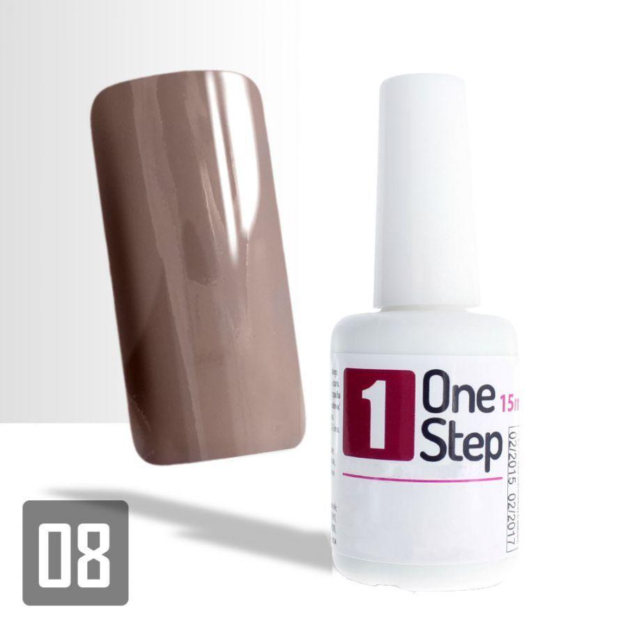 One Step Gel Uv Led 3v1 Svetle Hnedy 15ml