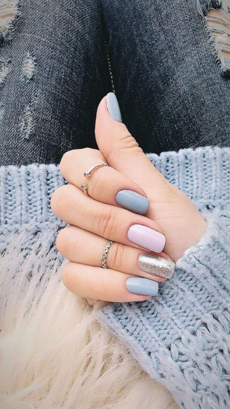 Outstanding Holiday Winter Nails Art Designs 2019 12 101outfit Com Gelove Nehty Design Nehtu