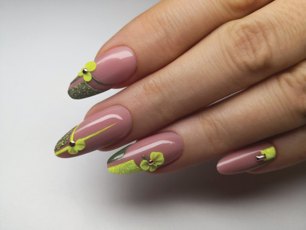 Forming 3d Gel Neon Yellow 3ml Brillbird Czech