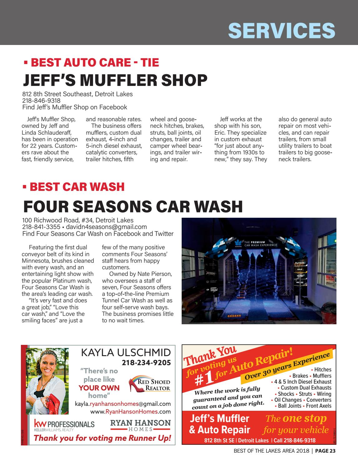Best Of The Lakes Area 2018 By Detroit Lakes Newspapers Issuu