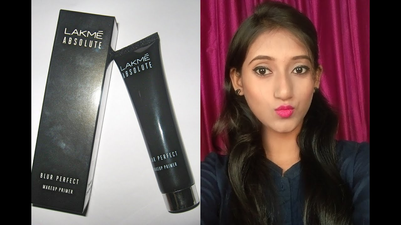 Lakme Absolute Blur Perfect Makeup Primer Review Demo And Swatches Youtube