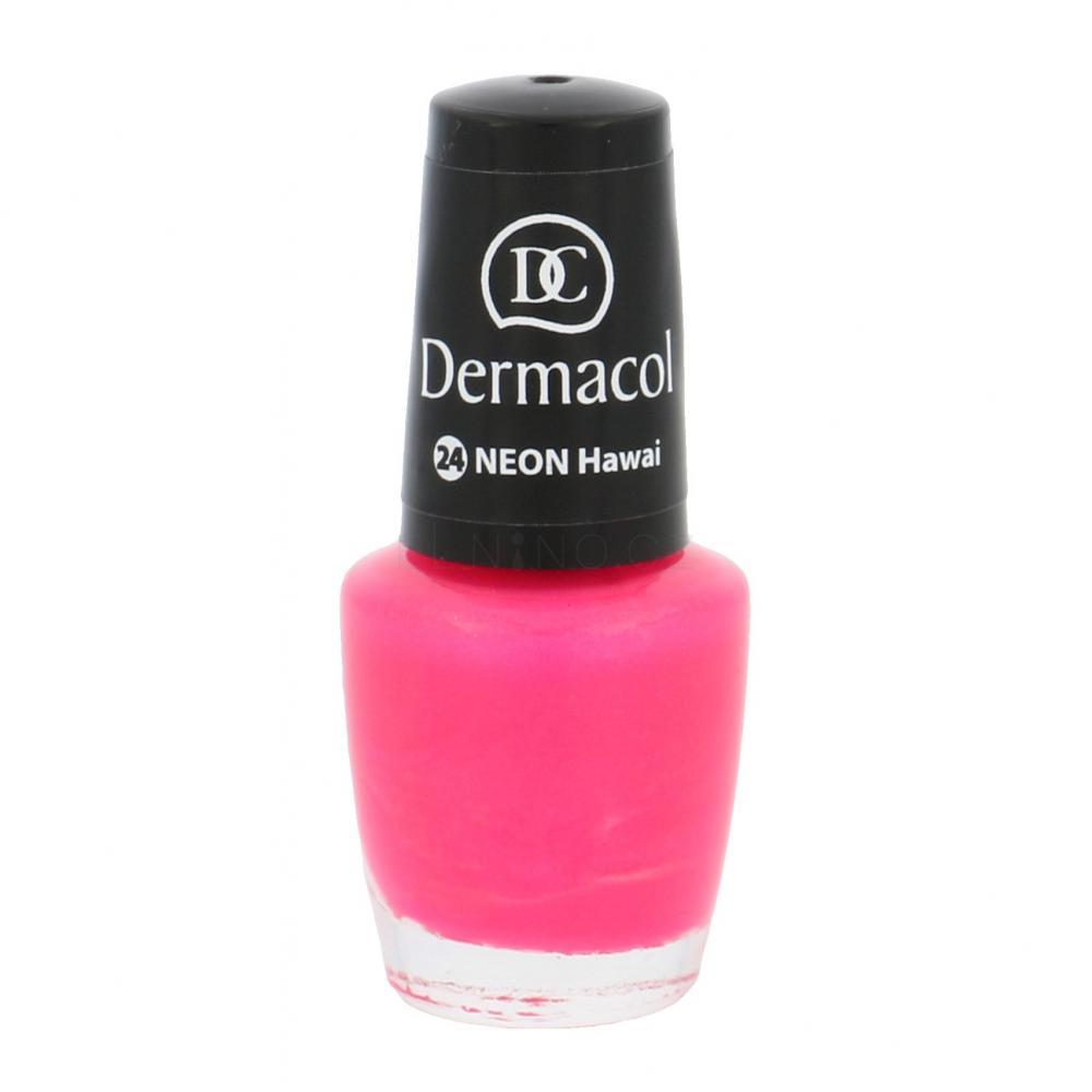 Dermacol Neon Lak Na Nehty Pro Zeny 5 Ml Odstin 24 Hawai Elnino Cz
