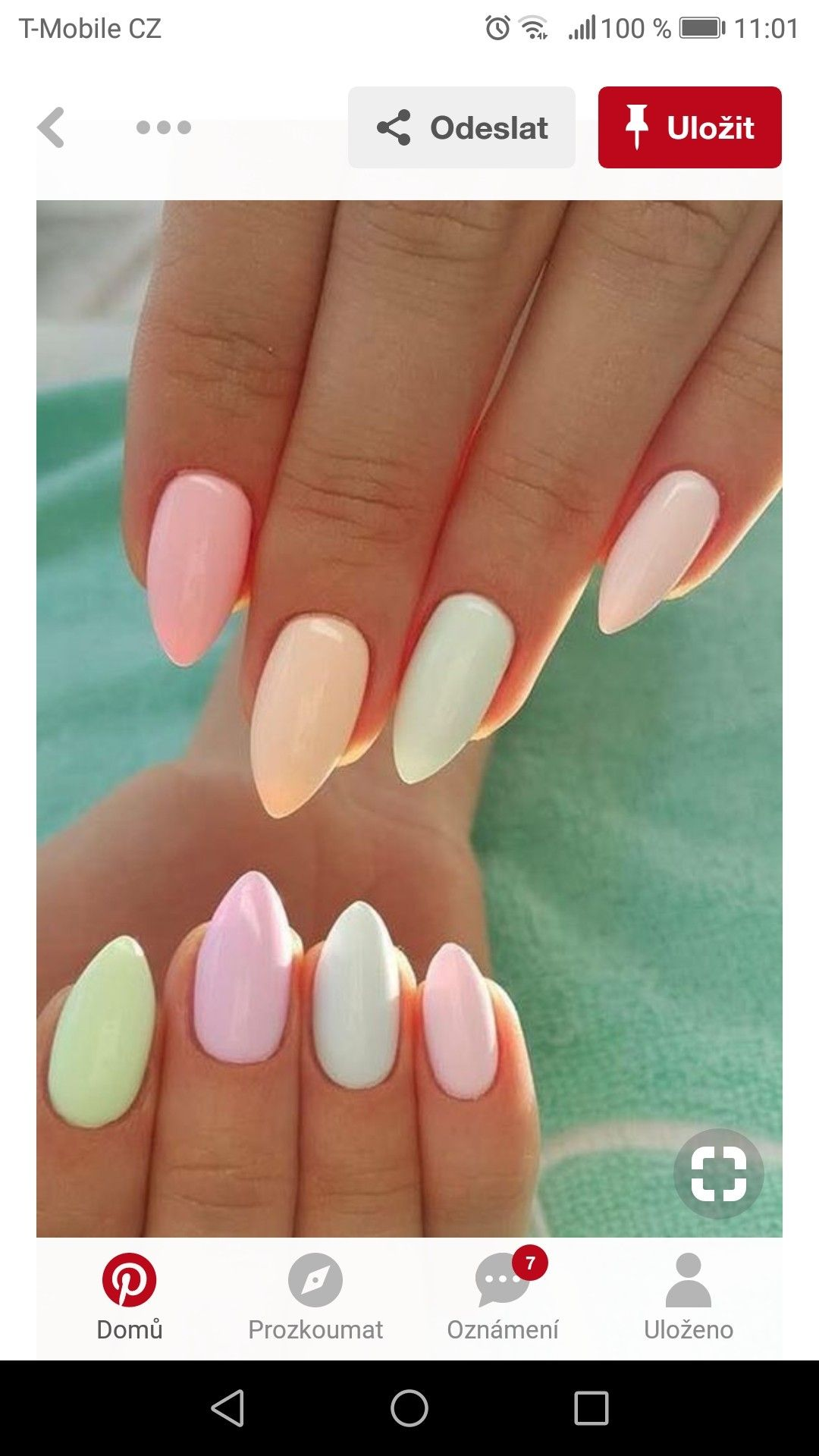 Pin By Veronika Oulicka On Nails Easter Nail Art Designs Nail Designs Spring Simple Nails
