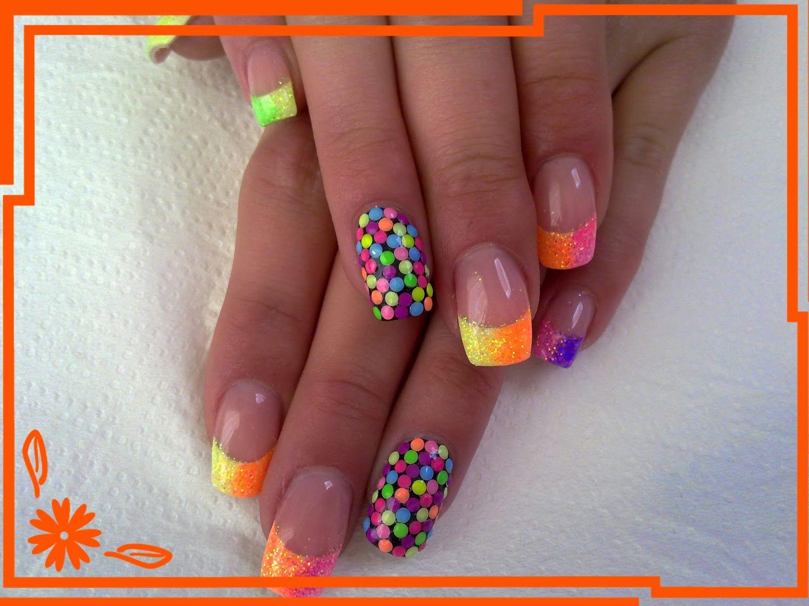Vysledek Obrazku Pro Letni Gelove Nehty Nails Nail Art