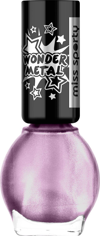 Miss Sporty Wonder Metal Lakier Do Paznokci 040 Super Purple 7ml W Amfora Pl