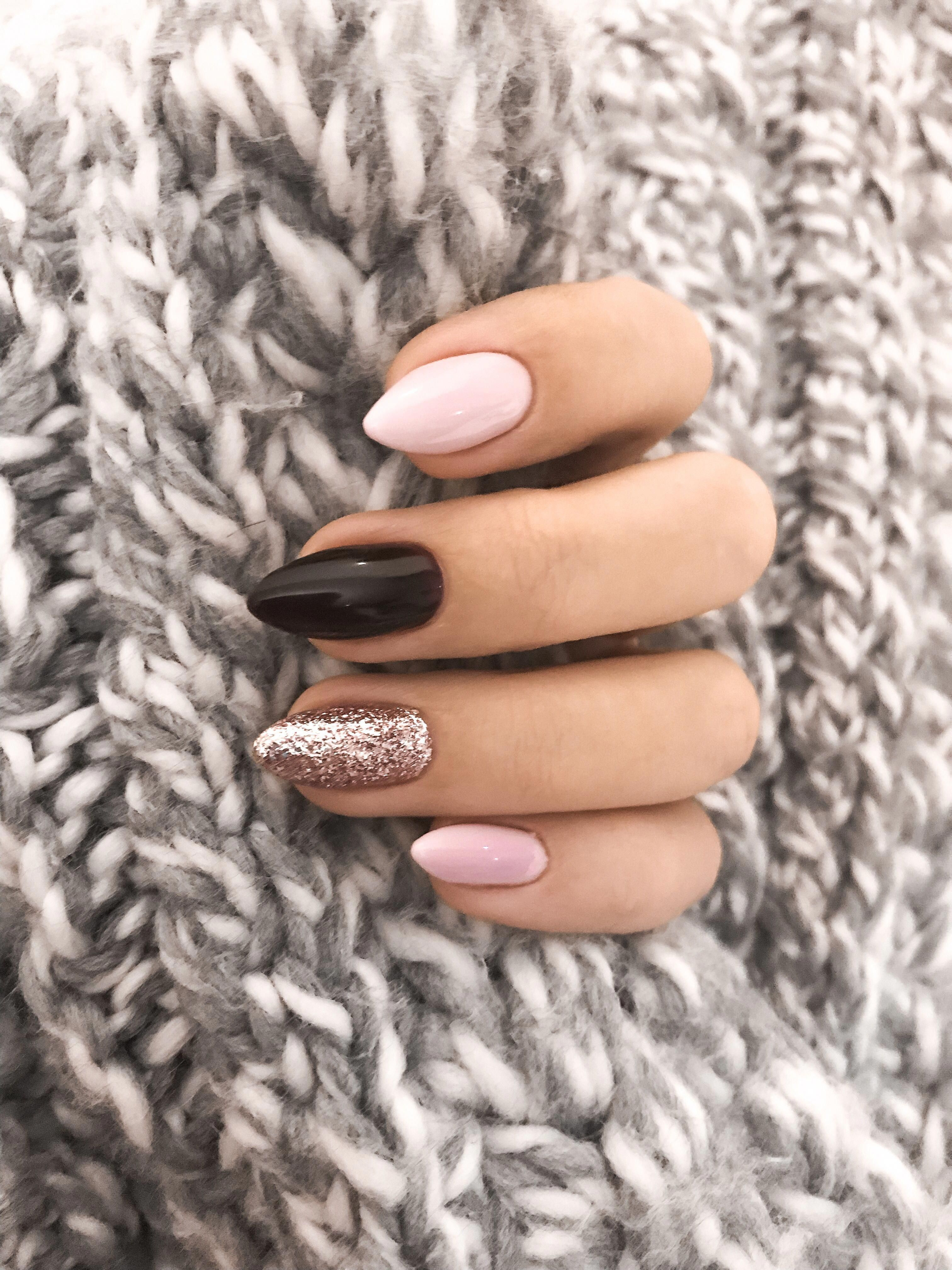 Nails Fallnails Autumnnails Beauty Unas Unaslargas Manicure Manicura Nogti Manikyur Beautifulacrylicnails Nehet Zlate Nehty Vzory Pro Zdobeni Nehtu