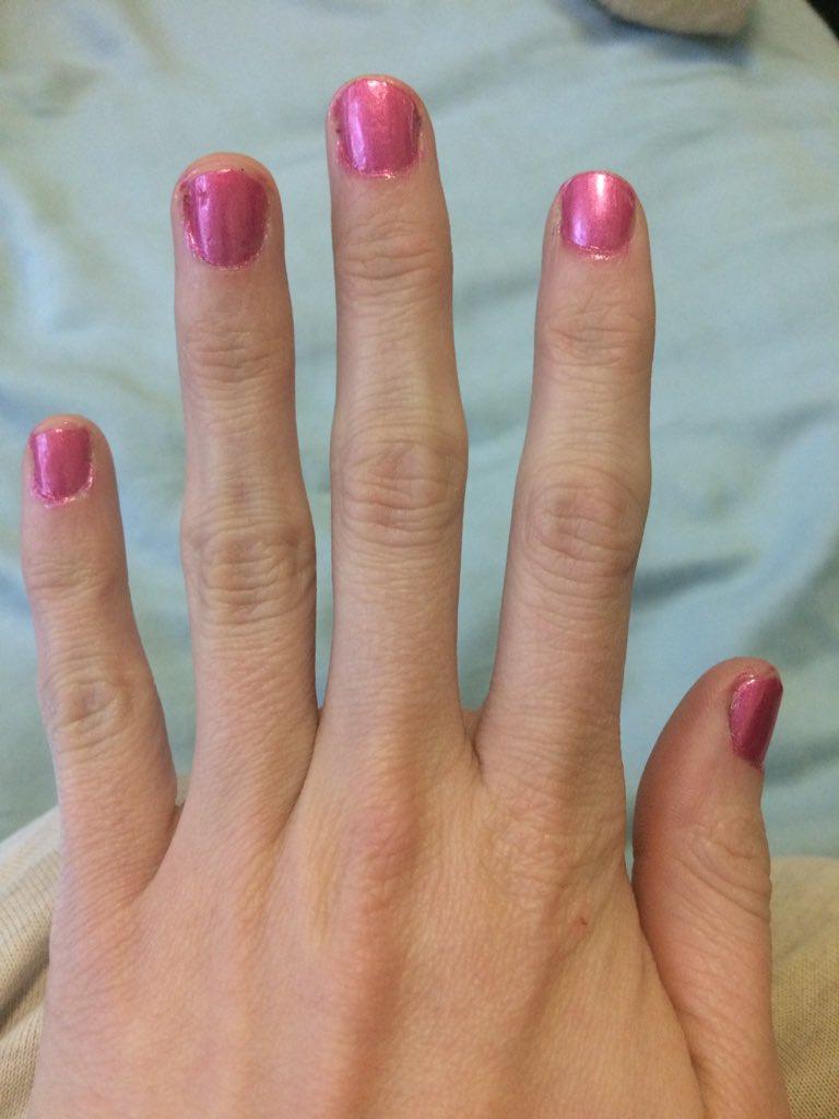Detective Pikajew Esq Na Twitteri Three Thin Coats Of Sally Hansen Complete Salon Manicure In Fe Fi Fo Plum Topped With Nonie Creme Colour Prevails Matte Https T Co K5cwvkvpuv