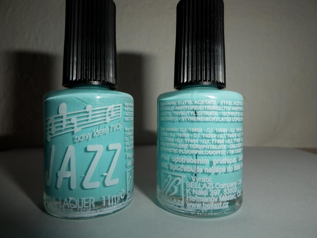 Dtest Lak Na Nehty Nail Laquer Acrylic Lacquer Zn Jazz Nebezpecne Vyrobky