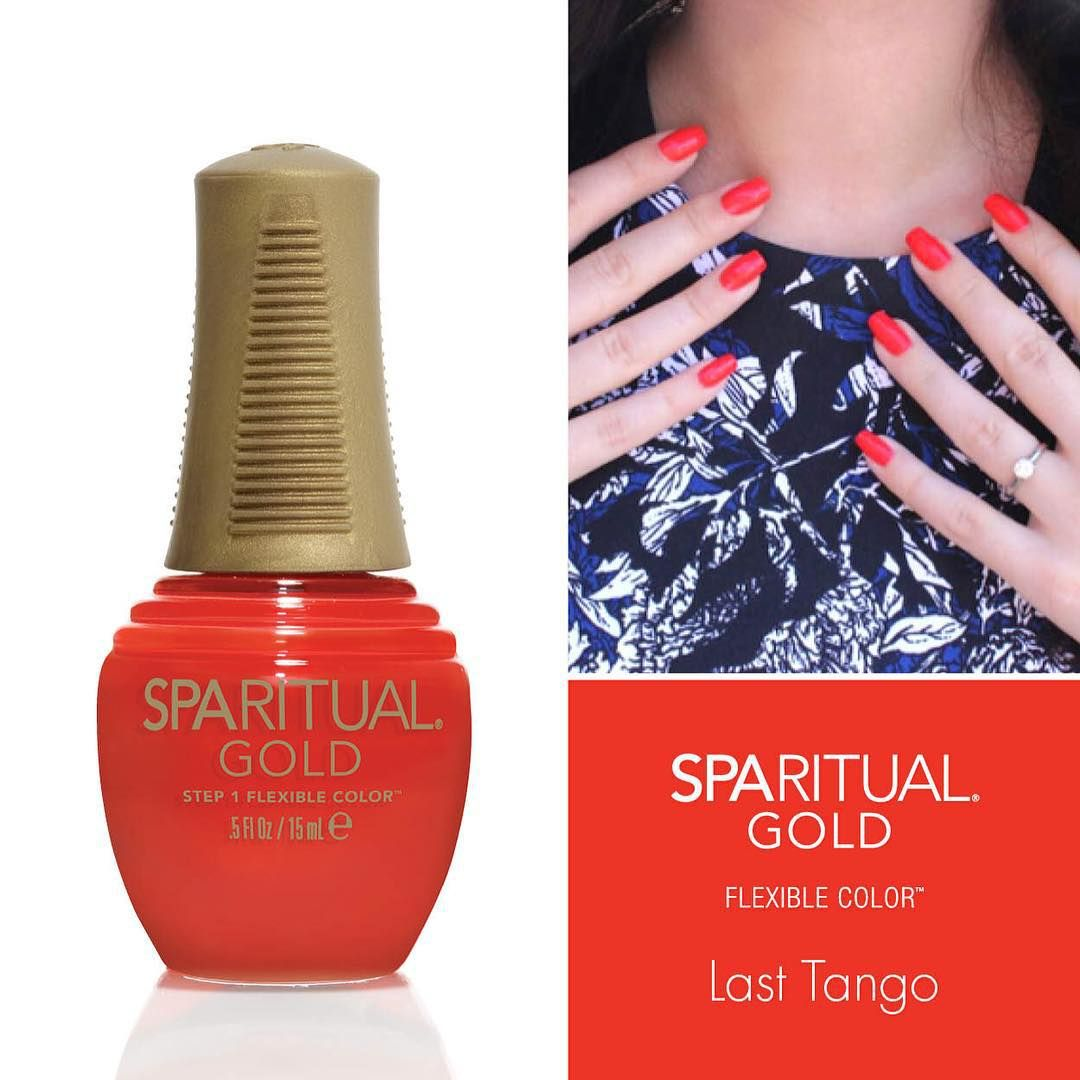 Sparitual On Instagram It S The First Manimonday Of November And We Re Kicking Things Off With This Goldflexib Slow Beauty Last Tango Sparitual Nail Polish