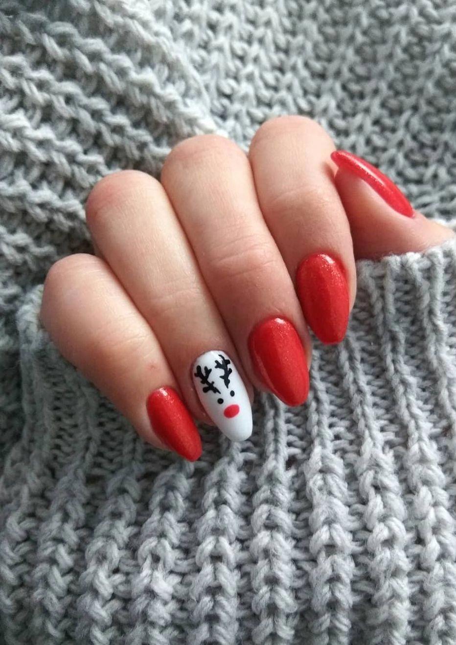 Make An Original Manicure For Valentine S Day Design Nehtu Gelove Nehty Umele Nehty